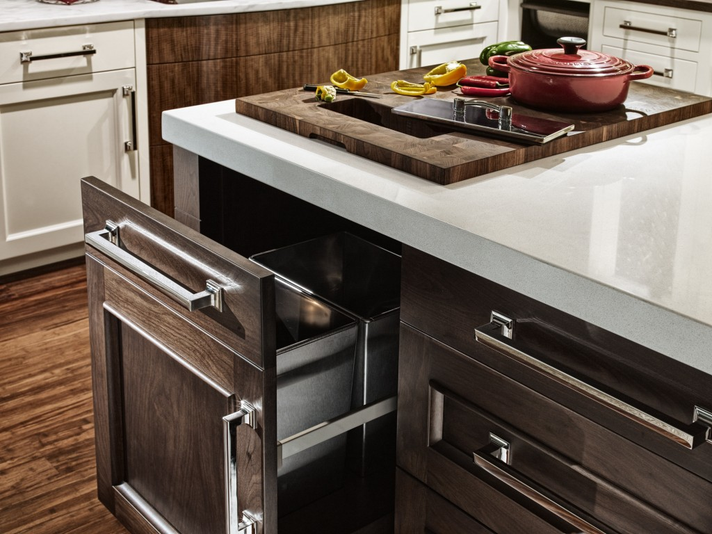 Integrated butcher block countertops for efficient food for Butcher block countertops installation