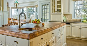 Teak Butcherblock Countertop featured on This Old House Television Show