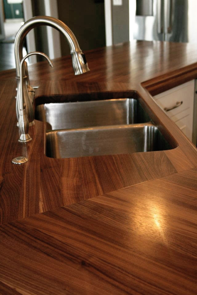 Walnut Countertop manufactured by Grothouse