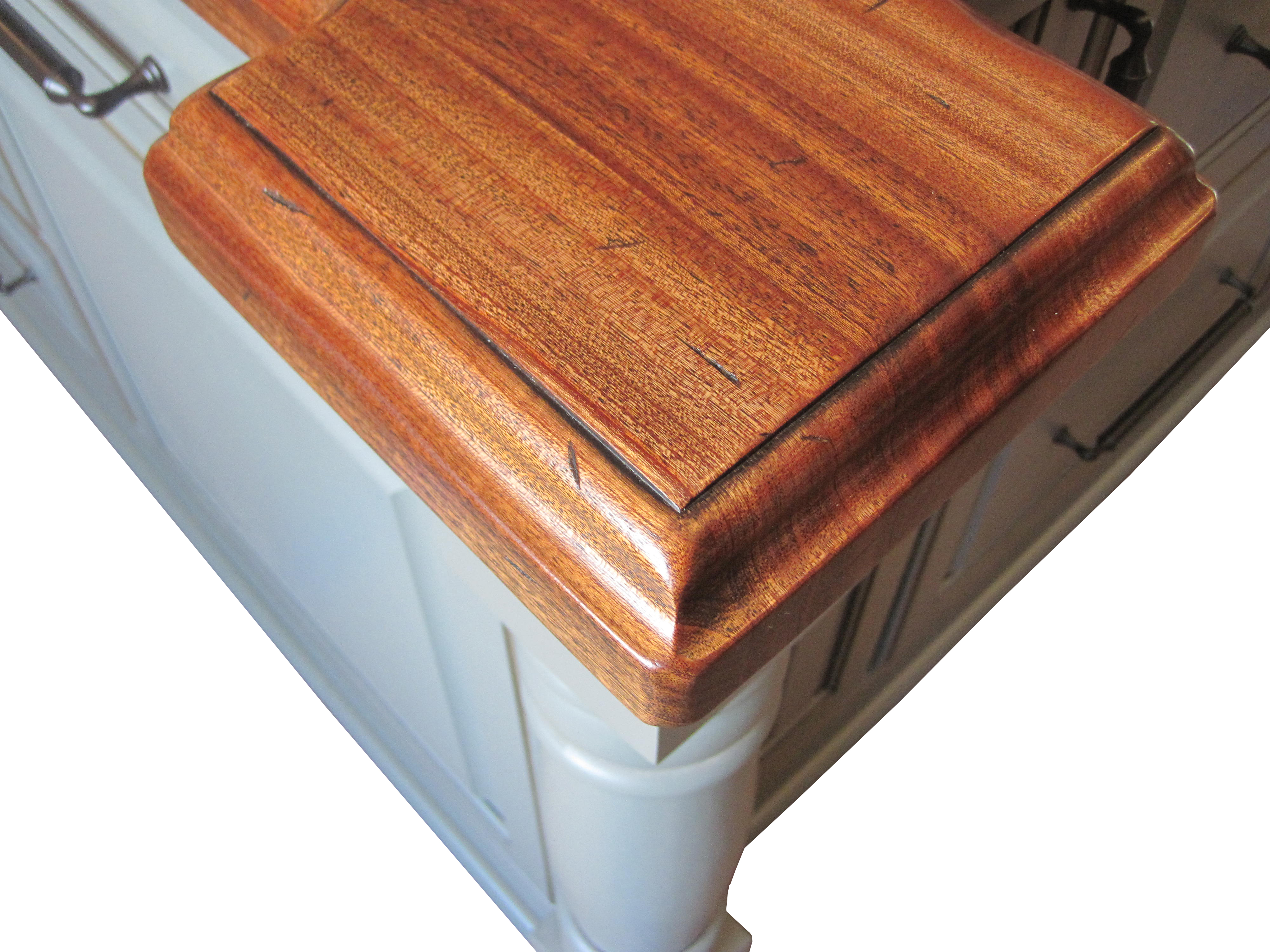 Super Distressed Wood Countertops By Grothouse