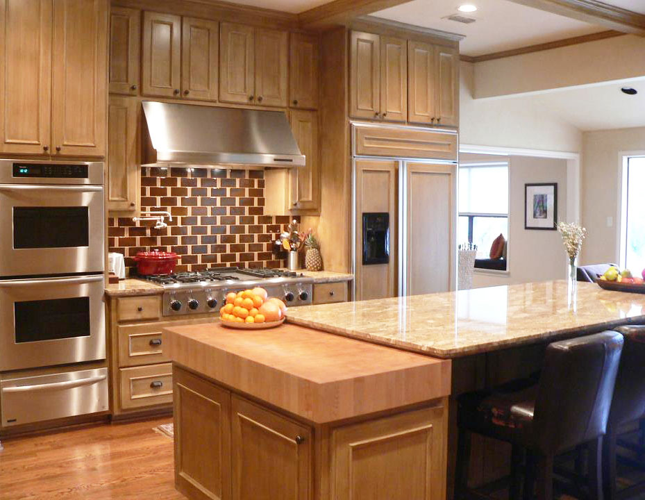 Butcher Block Style Kitchen Counter : Maple Wood Countertops - Butcher Blocks, Bar Tops Blog