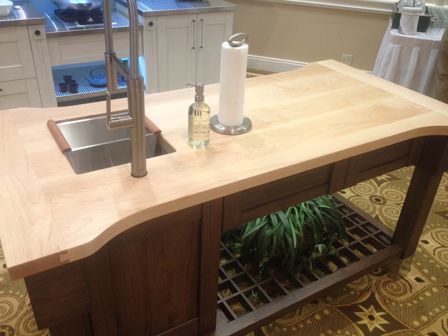 Custom Maple Wood Countertops by Grothouse