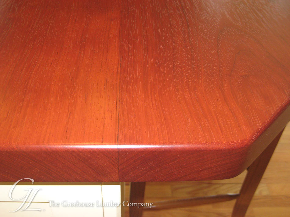 Brazilian Cherry Countertop in Flat Grain Construction