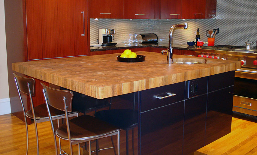 Walnut butcher block countertops wood countertop How to install butcher block countertop