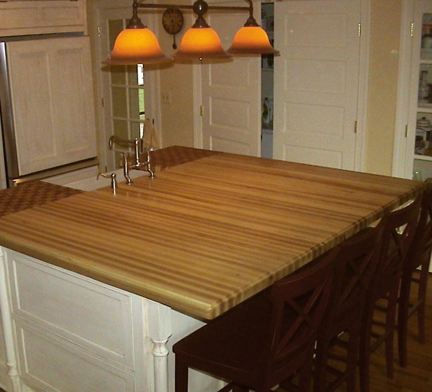 Ash Light Wood Countertop