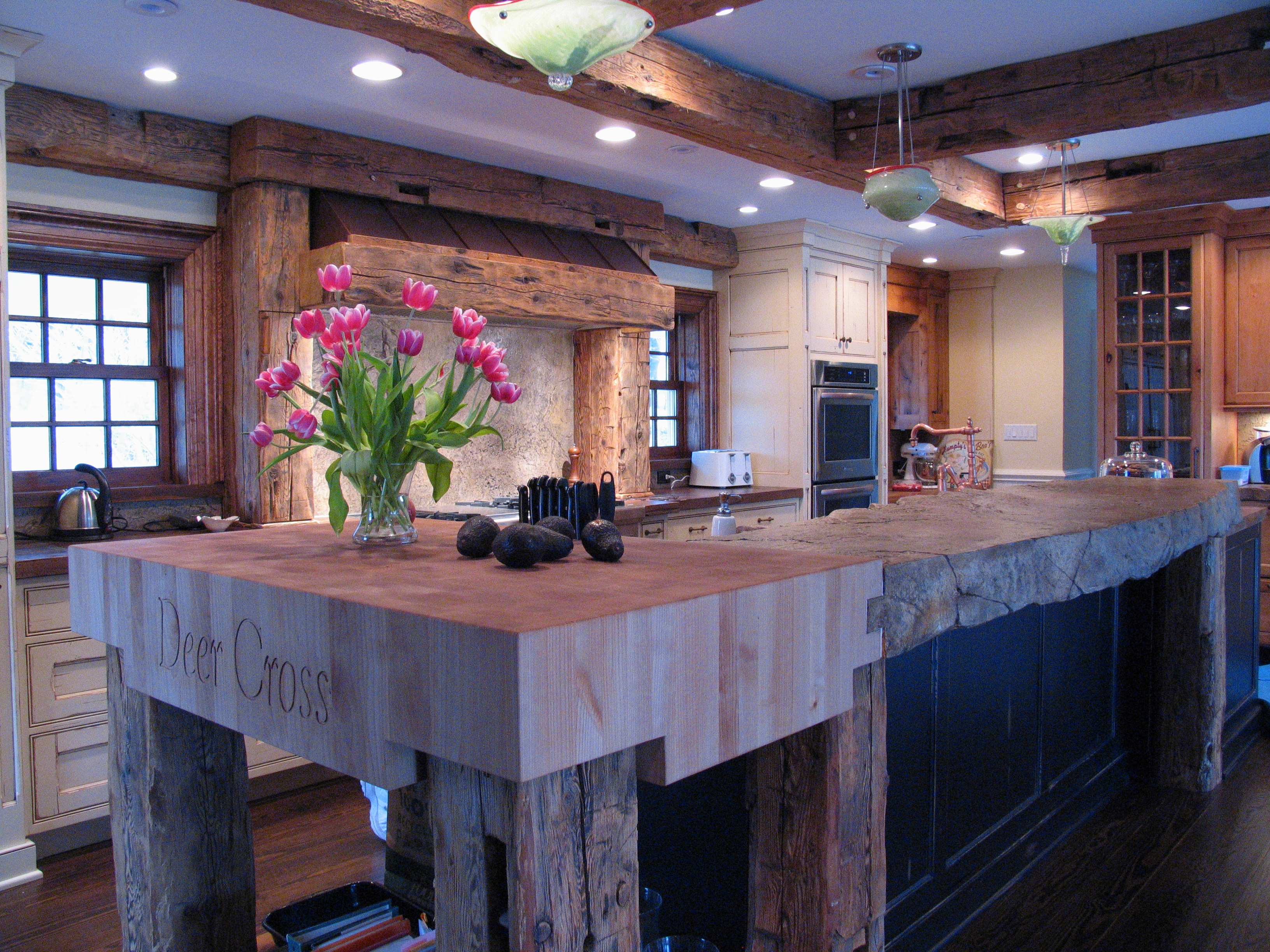 Alder Wood Countertops by Grothouse