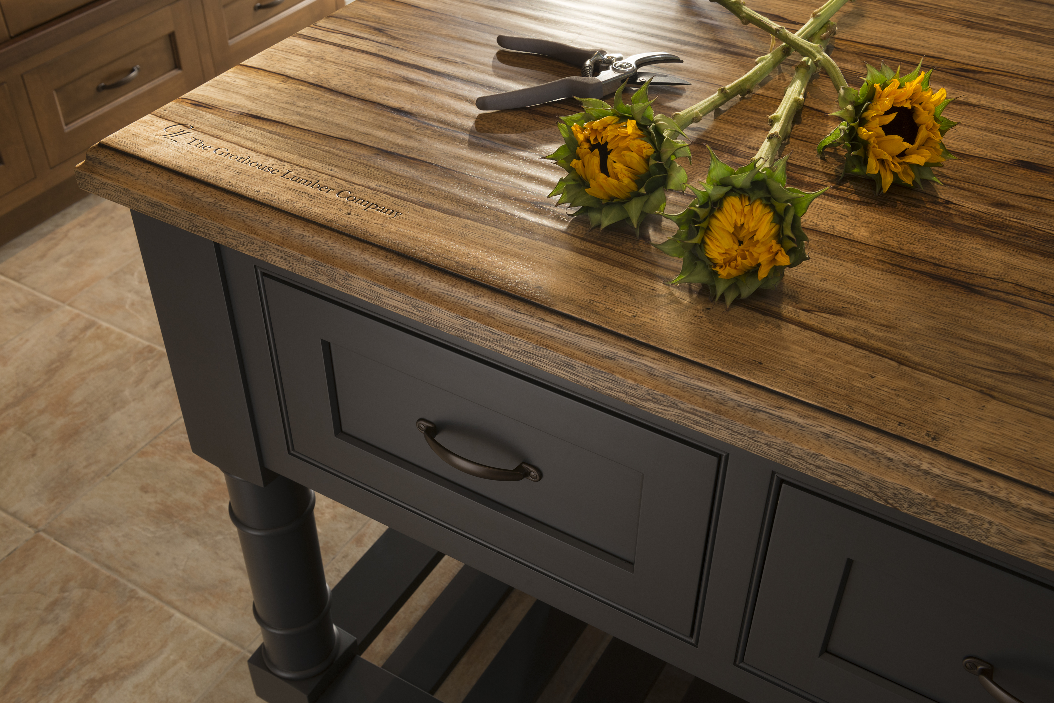 Saxon Wood™ Countertop exclusively available at Grothouse