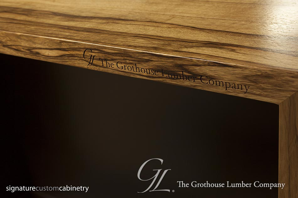 Saxon Wood™ Pastore™ Waterfall Counter
