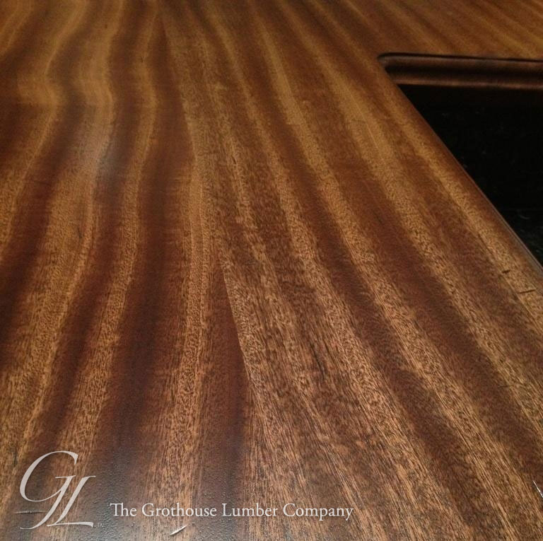 Super Distressed Wood Countertops accentuated with Black Glaze