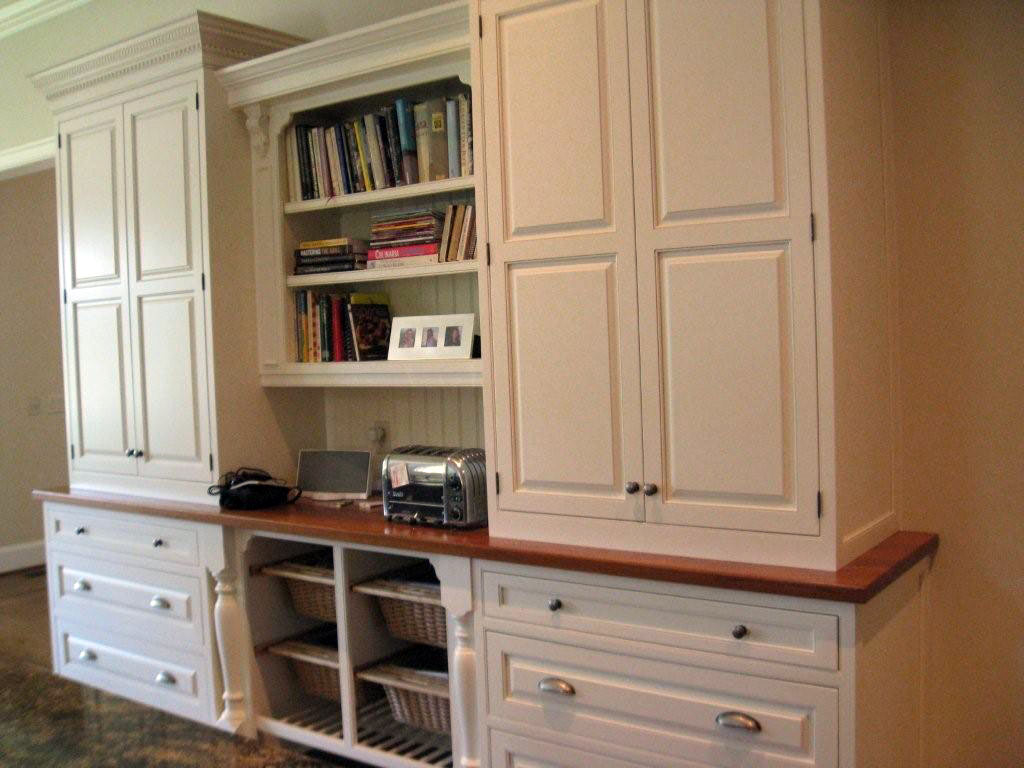 Accessorial Wood Surfaces designed by The Savannah Cabinet Shop