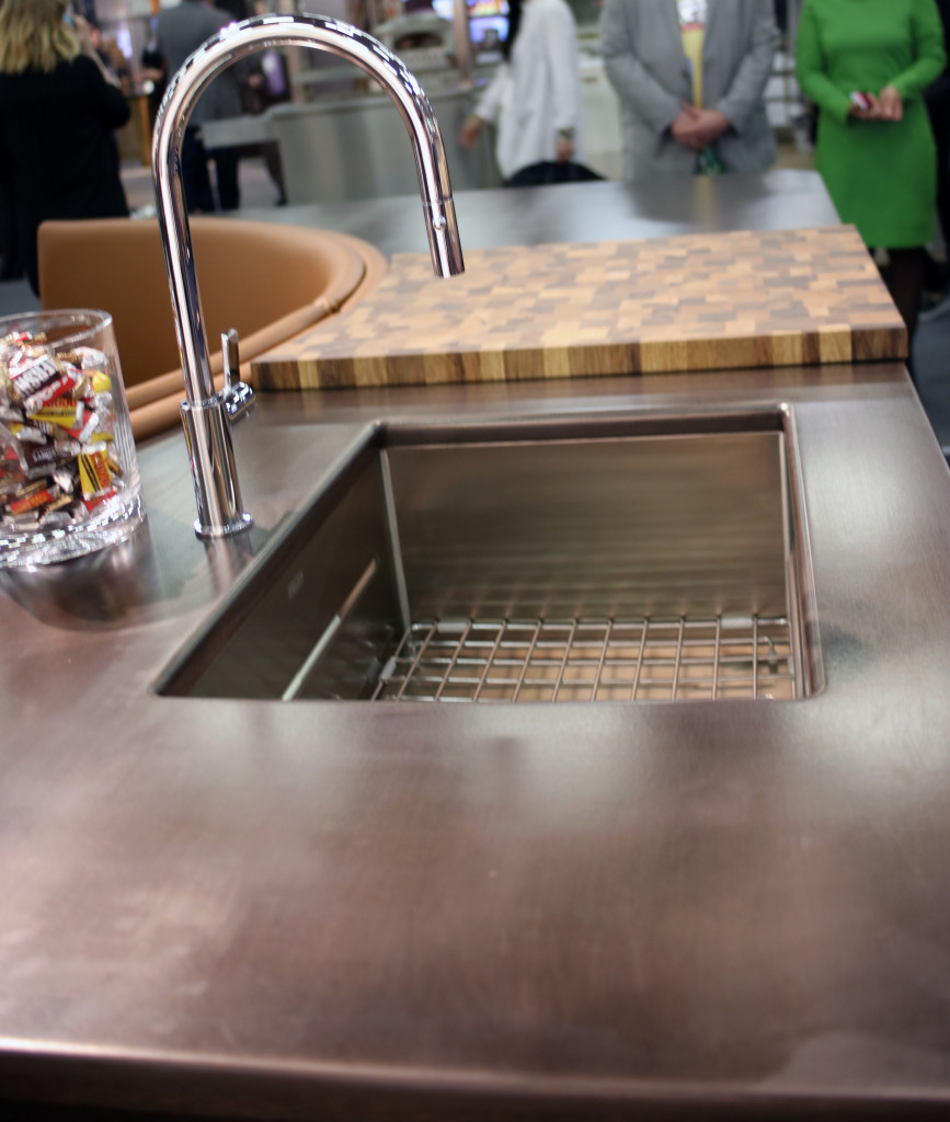 Exodus Metal Countertop by Grothouse