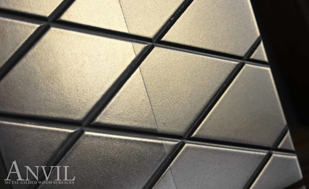 Anvil™ Engraved Metal Countertops by Grothouse