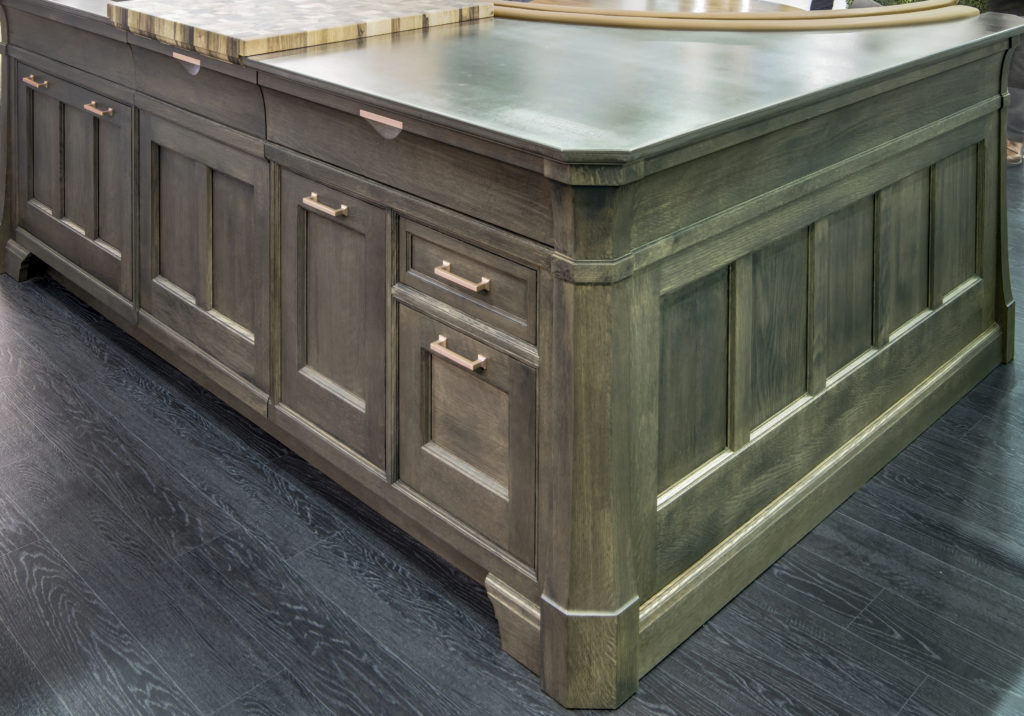 Anvil™ Exodus Countertop designed by Rutt HandCrafted Cabinetry