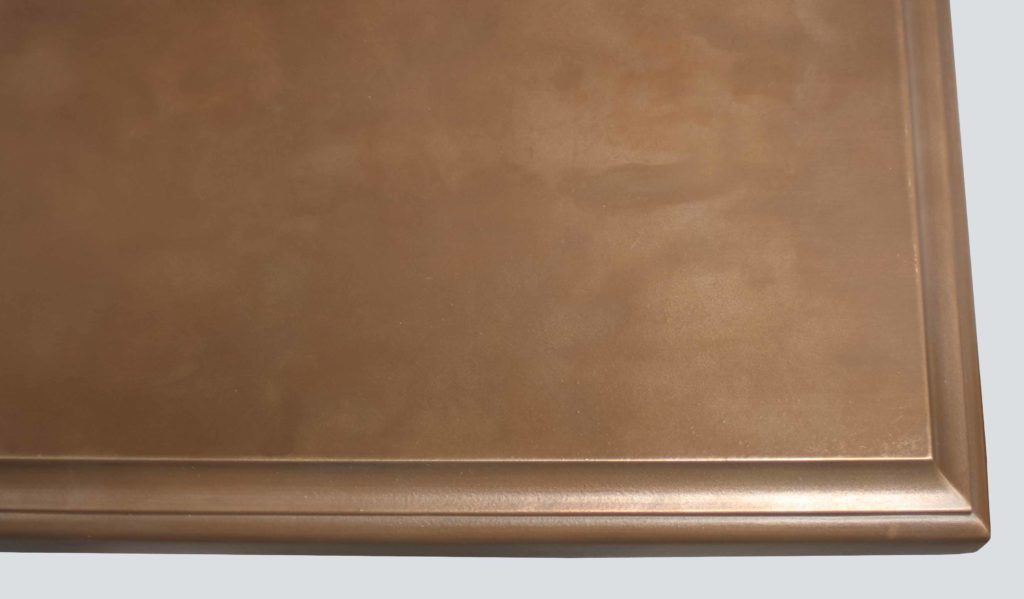 Medallion Bronze Countertops Finish
