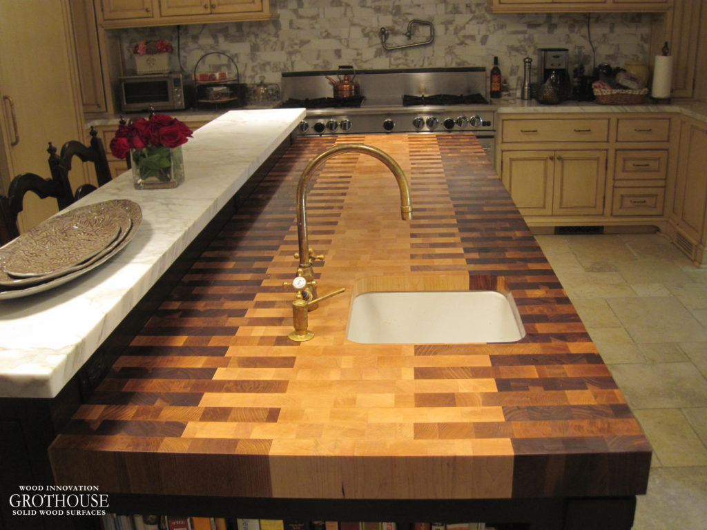 butcherblock kitchen countertops - wood countertop, butcherblock