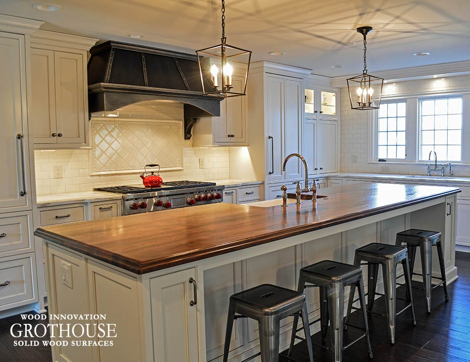 Wood Countertops For Farmhouse Style Kitchens Wood