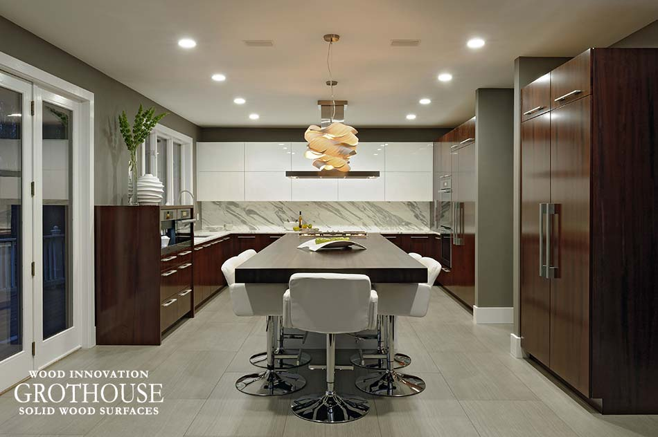 Modern Kitchen Design by Paul Bentham of Jennifer Gilmer Kitchen and Bath
