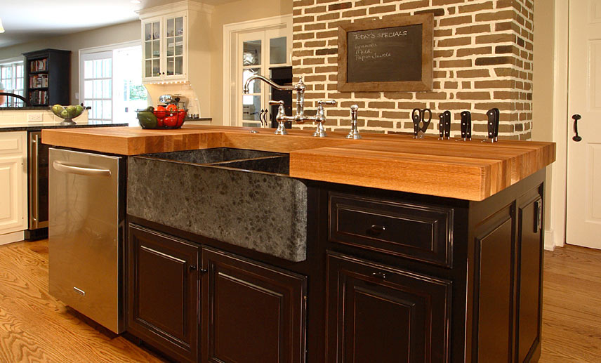 Wonderful Declutter Kitchen Countertops By Including Knife Slots In Your Countertop