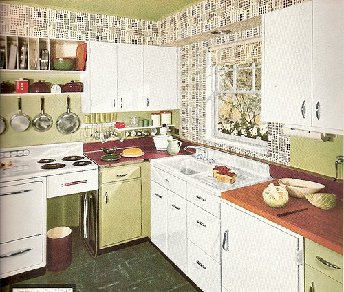 1950s Wood Kitchen Countertop History