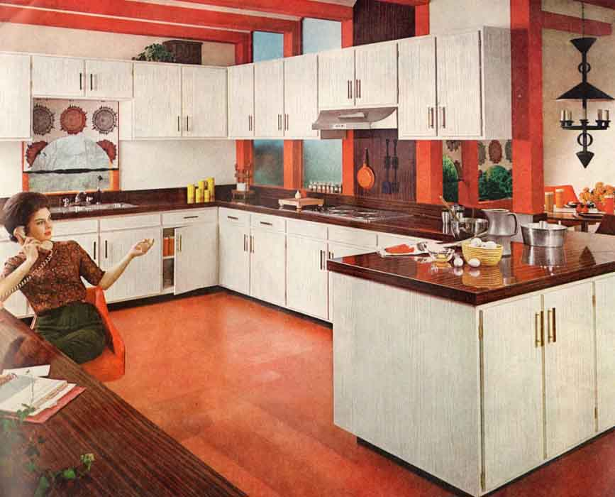 1960s Wood Kitchen Countertop History