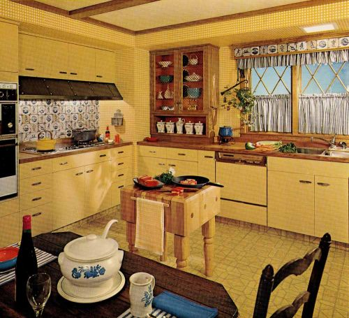 1970s Wood Kitchen Countertop History