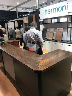 Grothouse Kensington™ Wood Countertops at KBIS 2019 in Harmoni Kitchens booth
