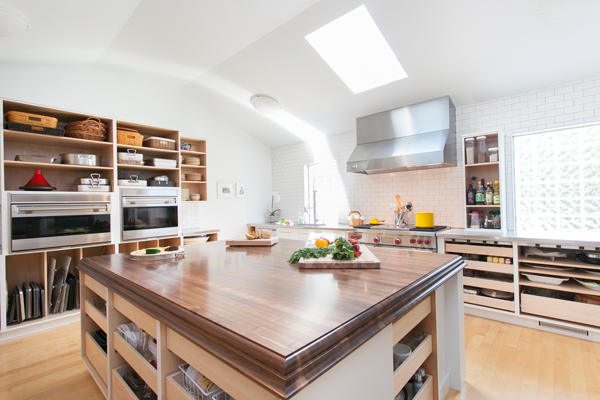 The Perfect Chef Kitchen with Walnut Countertop