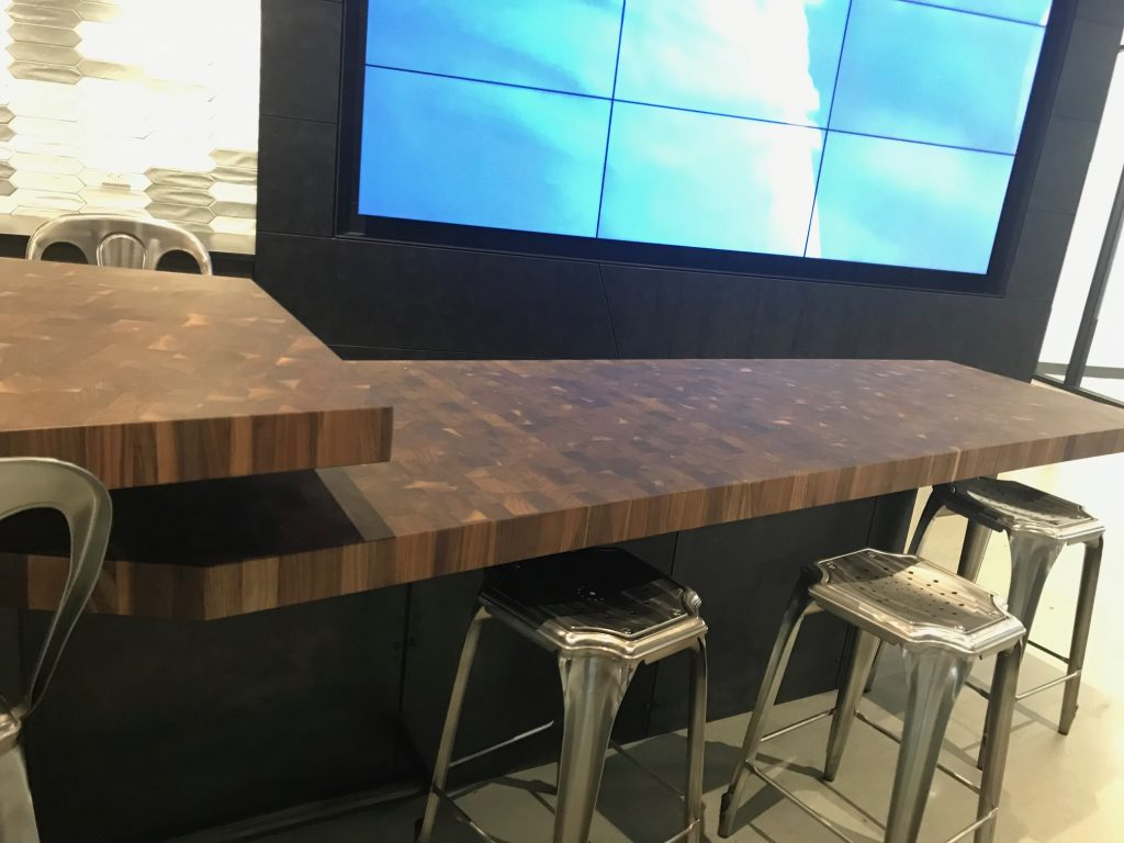 Large Custom Walnut Butcher Block Tables by Grothouse