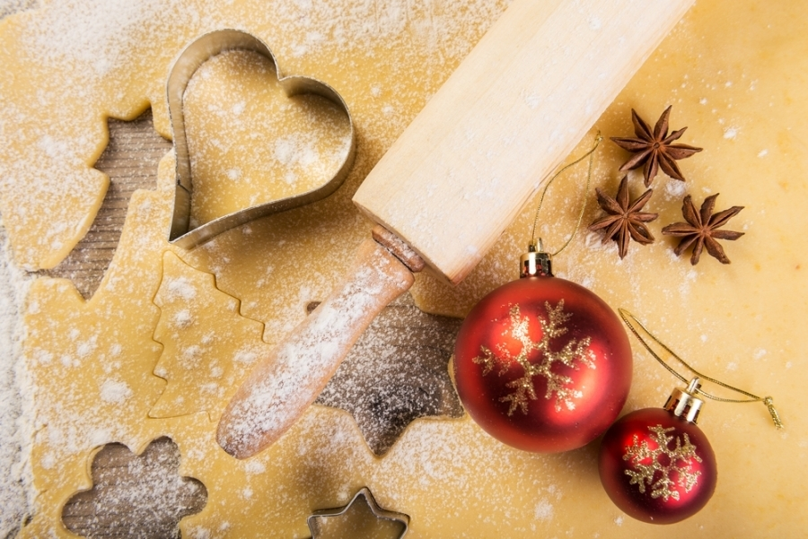 Holiday Baking with Wood Countertops and Butcher Blocks