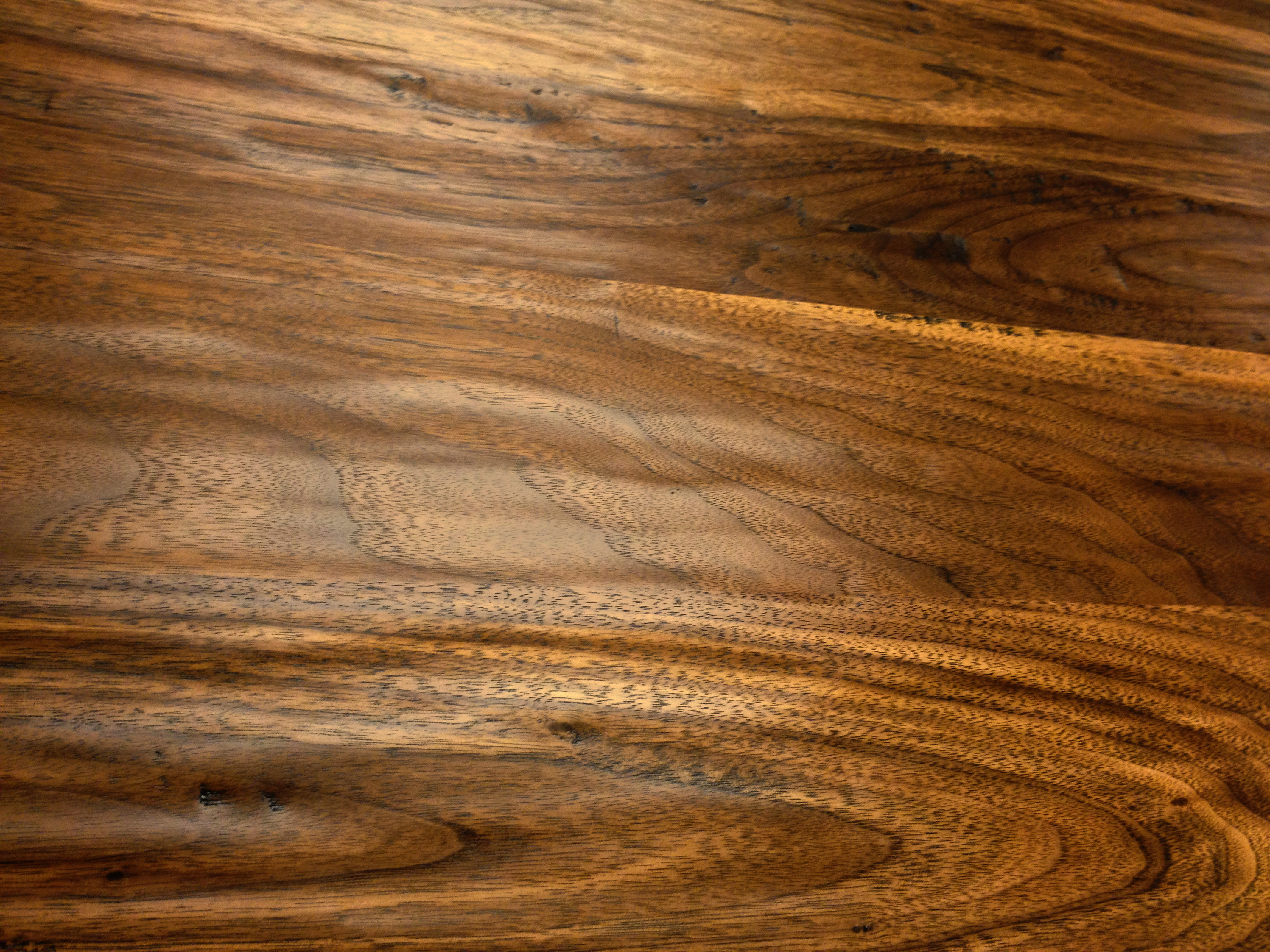 Hand planed wood countertops