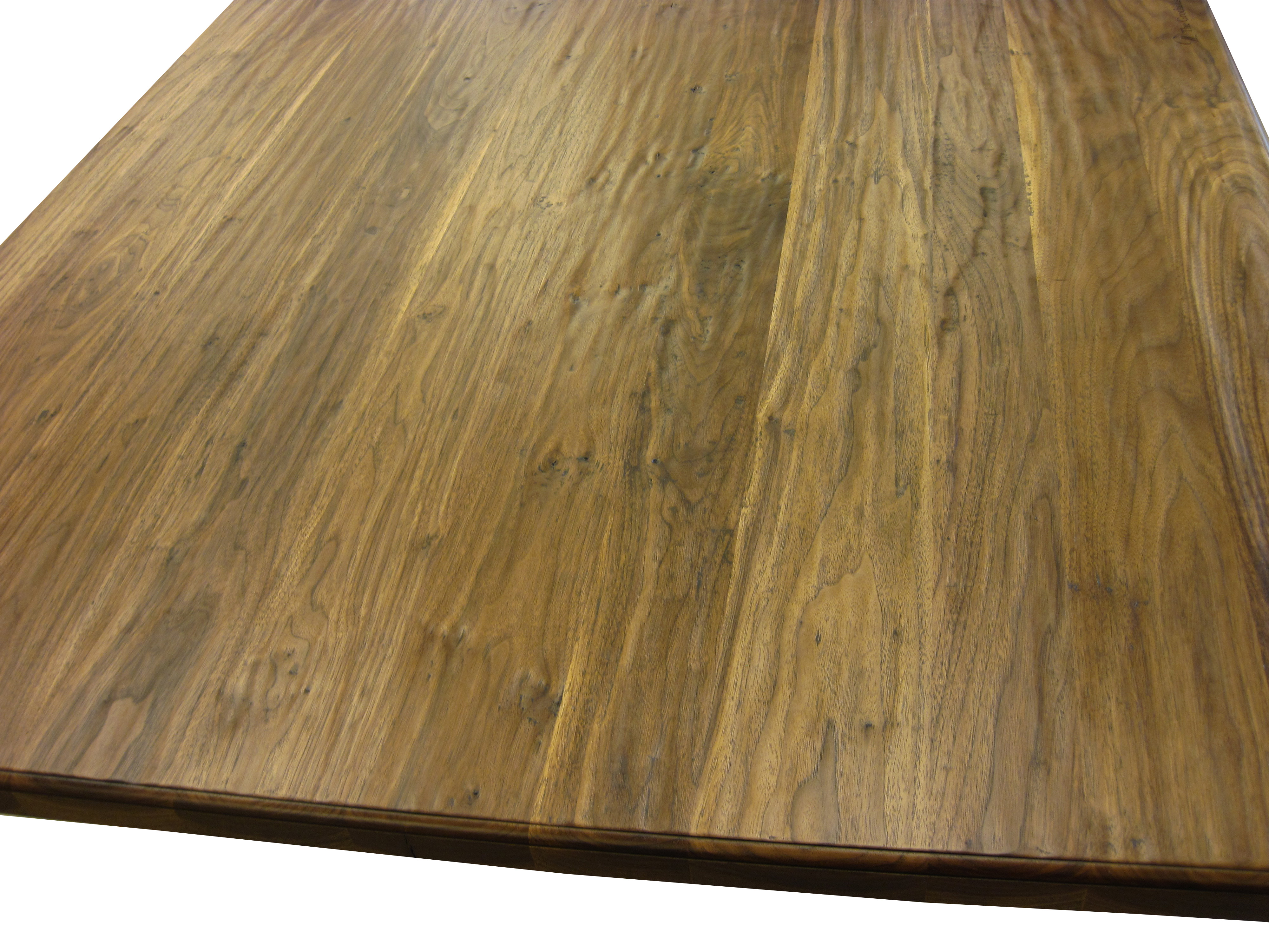Walnut Hand Planed Wood Counter with Durata® Finish