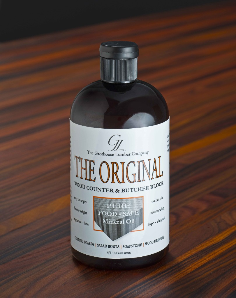 The Original Oil™ Finish for butcher block countertops