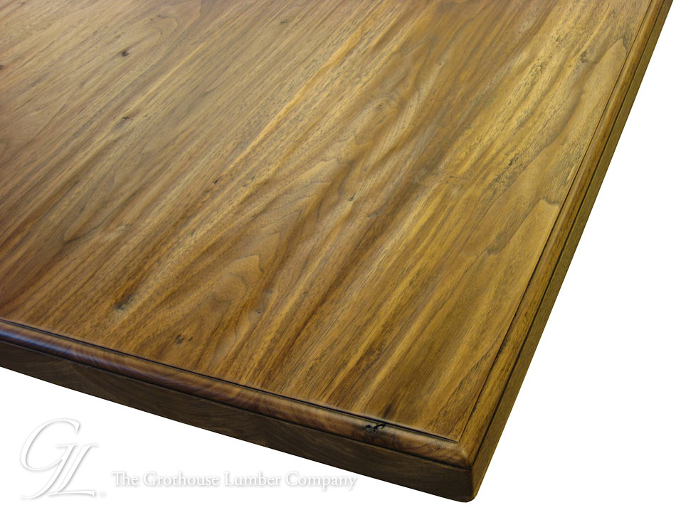 Hand Planed Rustic Countertops by Grothouse