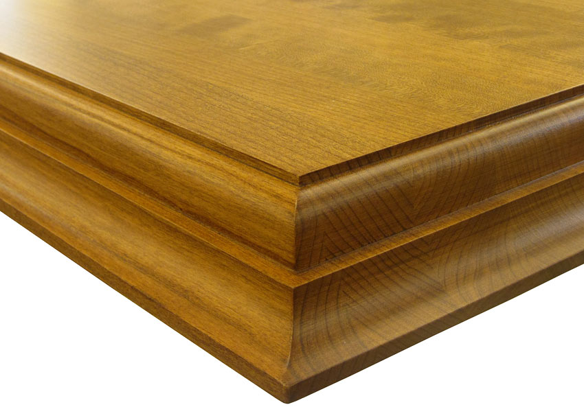Medium Double Roman Ogee Wood Countertop Edge