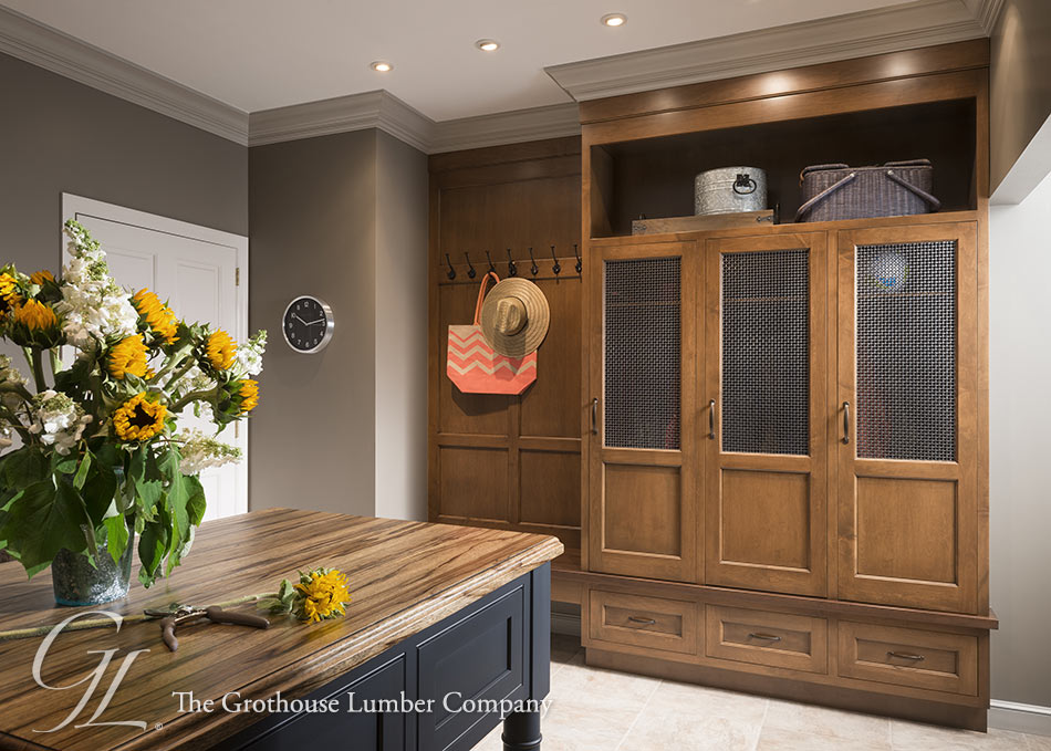 Saxon Wood™ Countertop for a Traditional Space