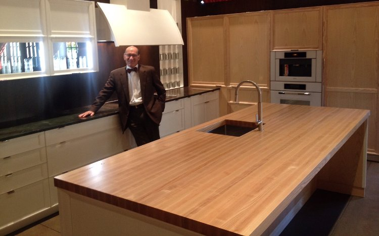 Ash Wood Residential Countertop