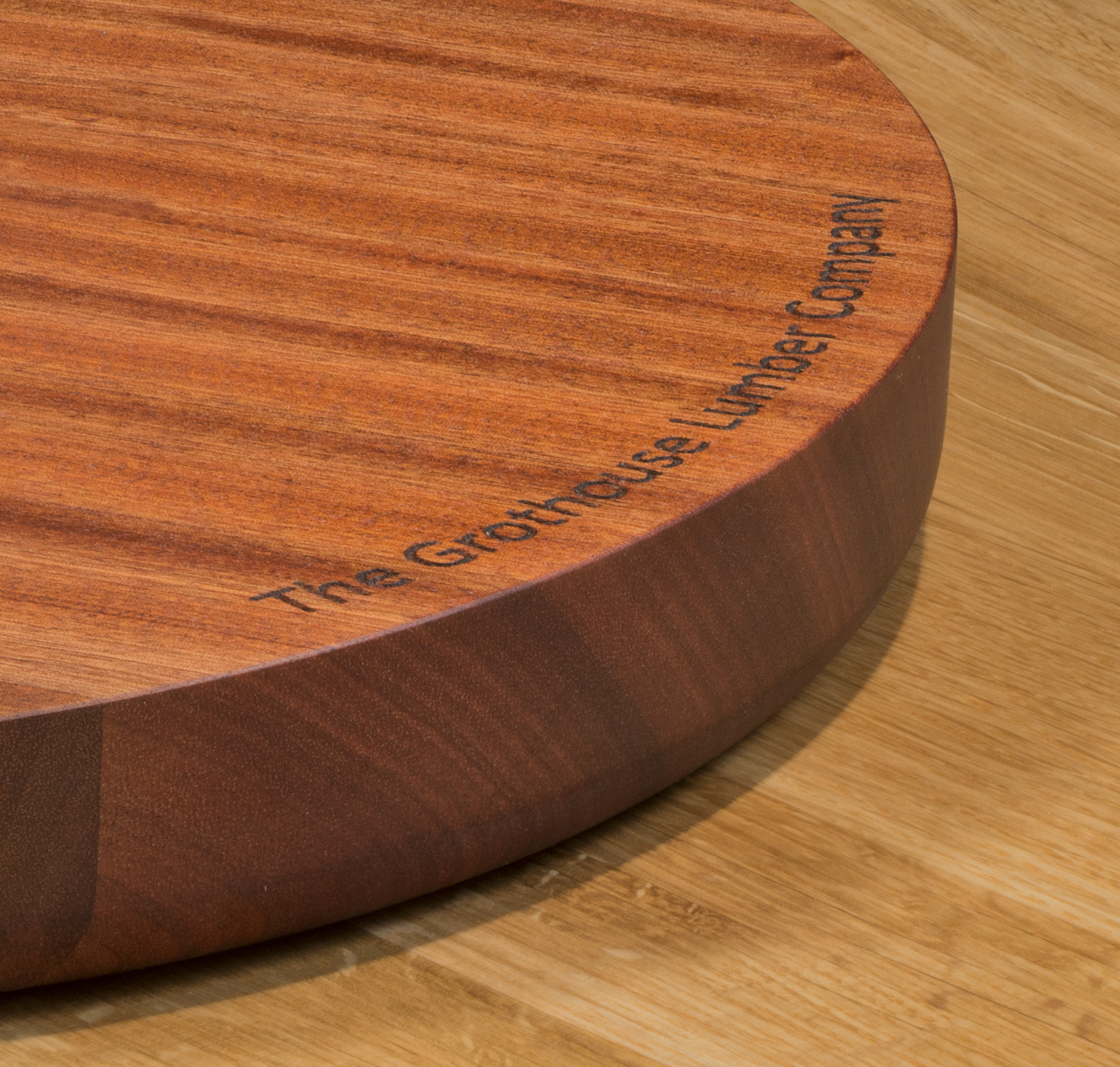 Trencher Cutting Board with Laser Engraving