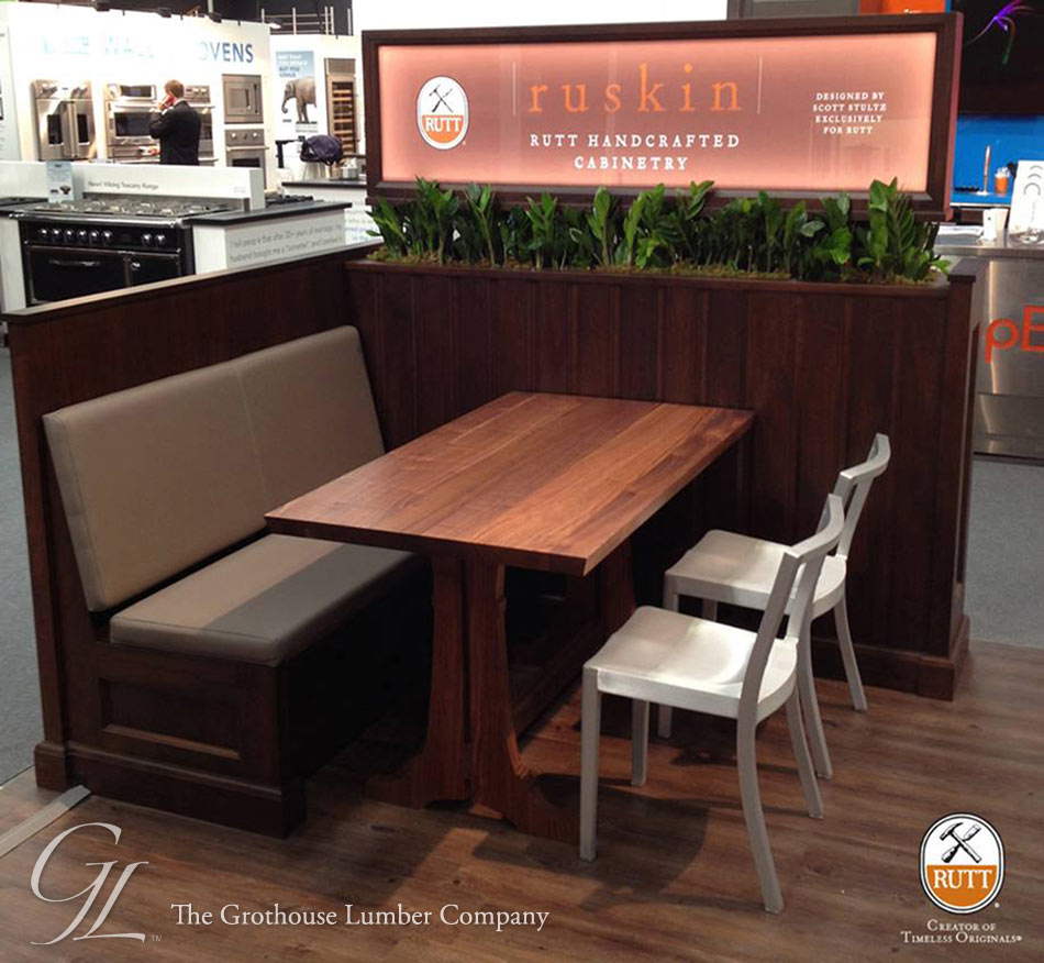 Trestle Table at the 2014 Architectural Digest Home Design Show in NYC
