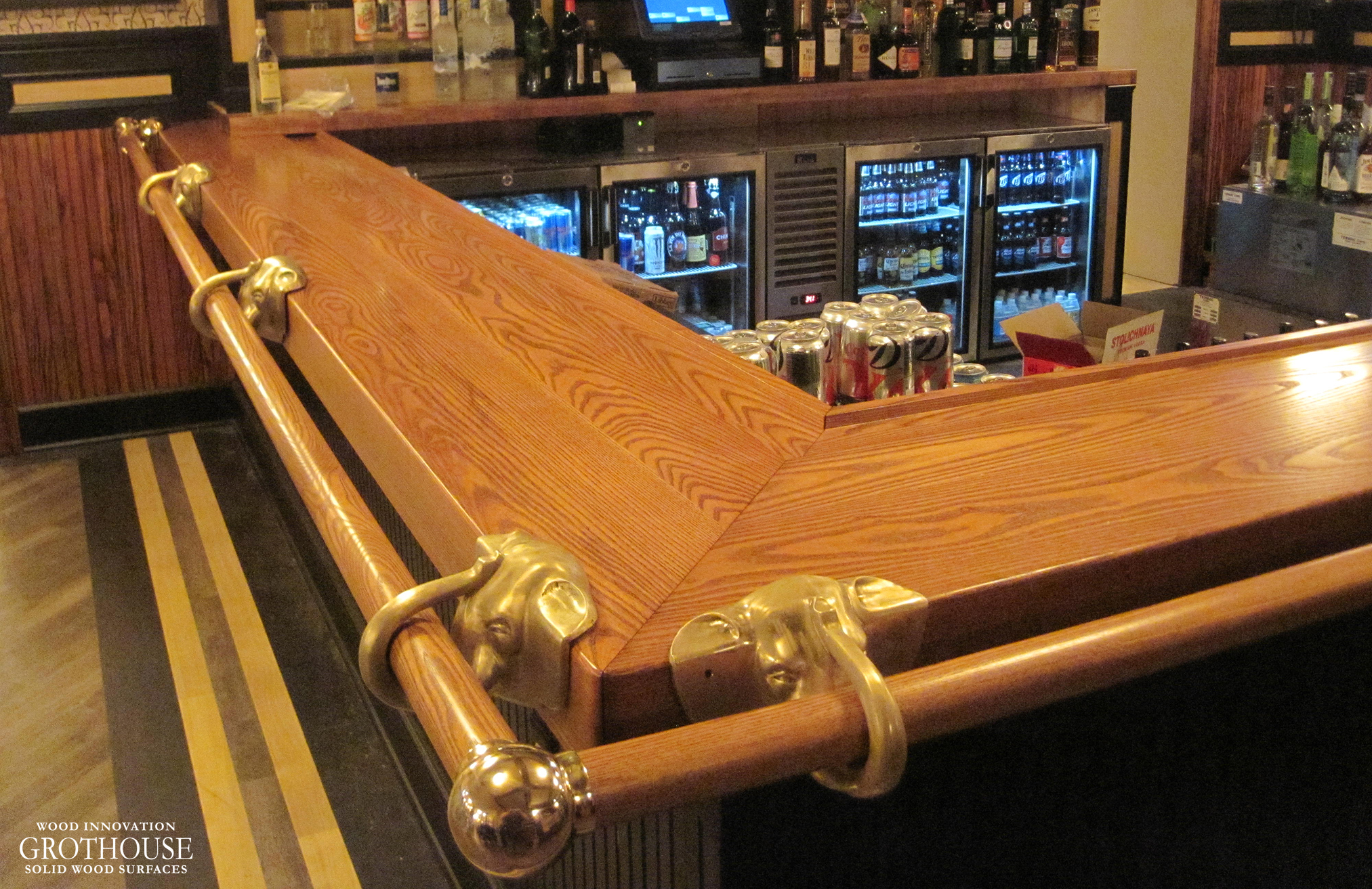 Commercial Wood Surfaces for a Restaurant