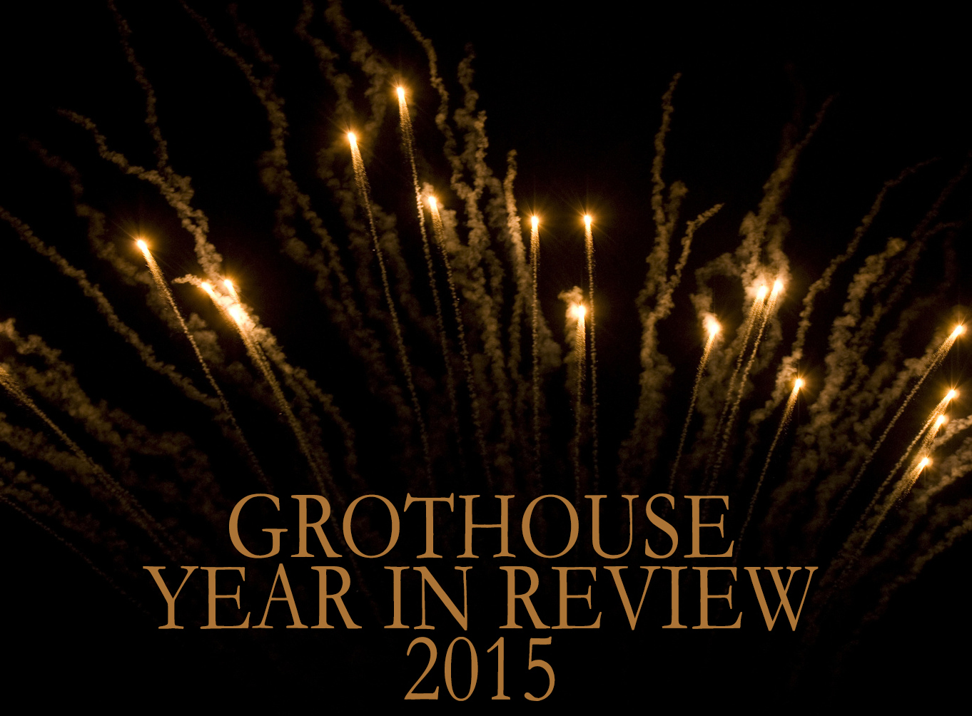 Grothouse Wood Countertops Year in Review 2015
