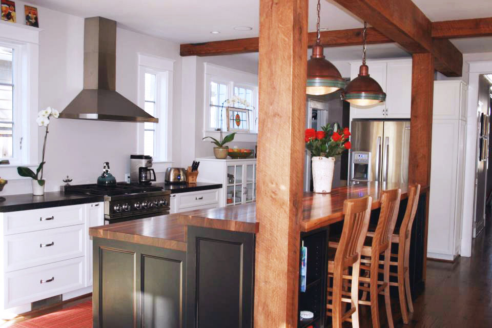 Kitchen Island Bar Ideas With Wood Tops