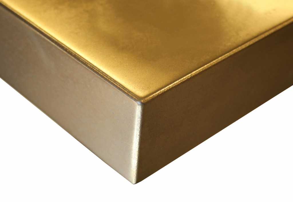 Anvil™ Magnum Brass Metal Countertop Finish