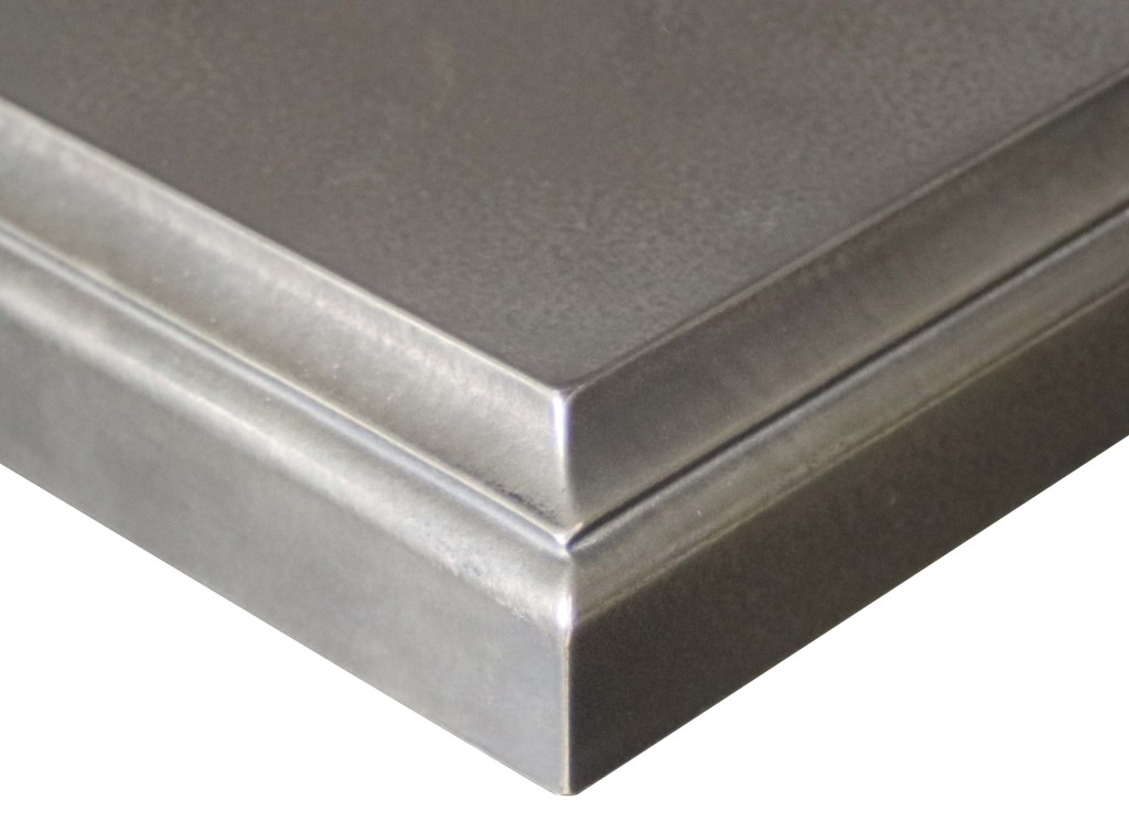 Anvil™ Argentum Nickel Silver Metal Countertop Finish