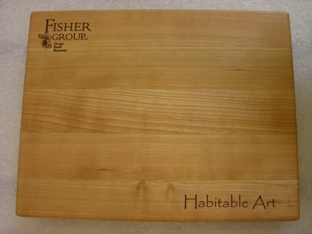 The Fisher Group Personalized Cutting Board