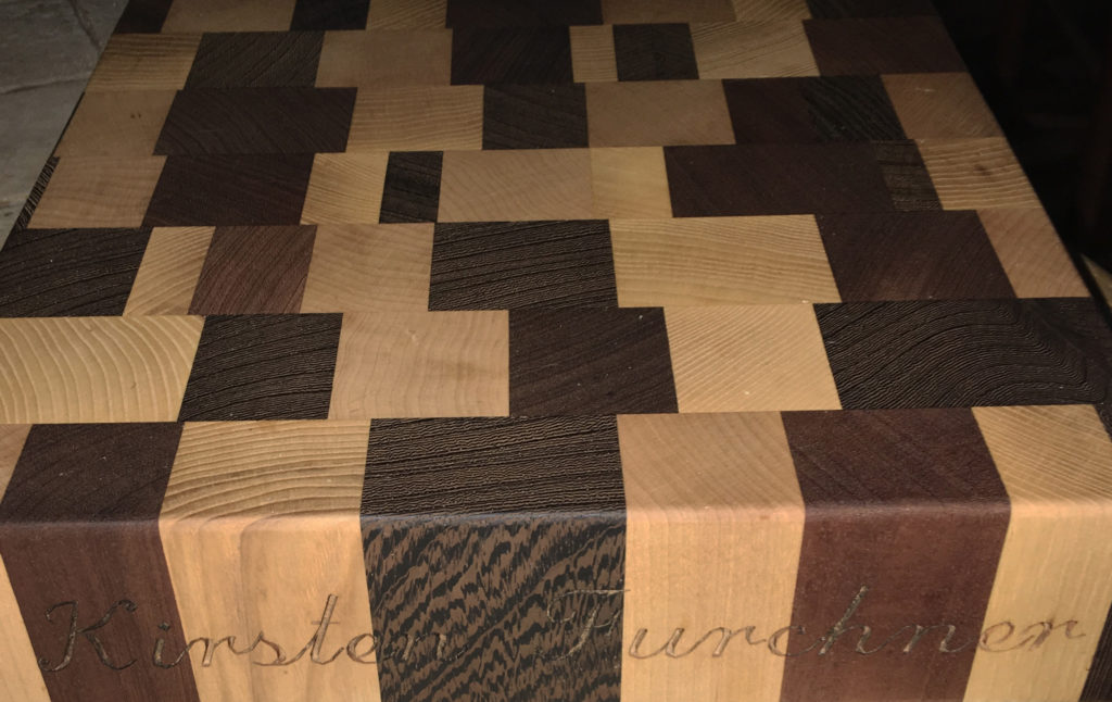 Cutting Boards make Unique Personalized Gifts