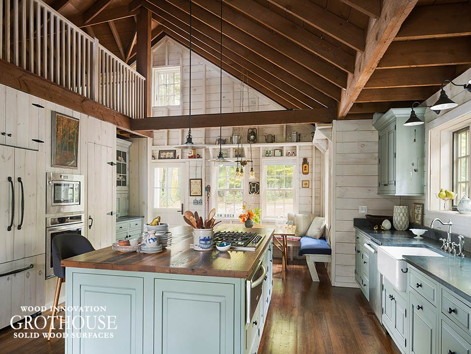 Farmhouse Style Kitchens designed by Landmark Cabinetry