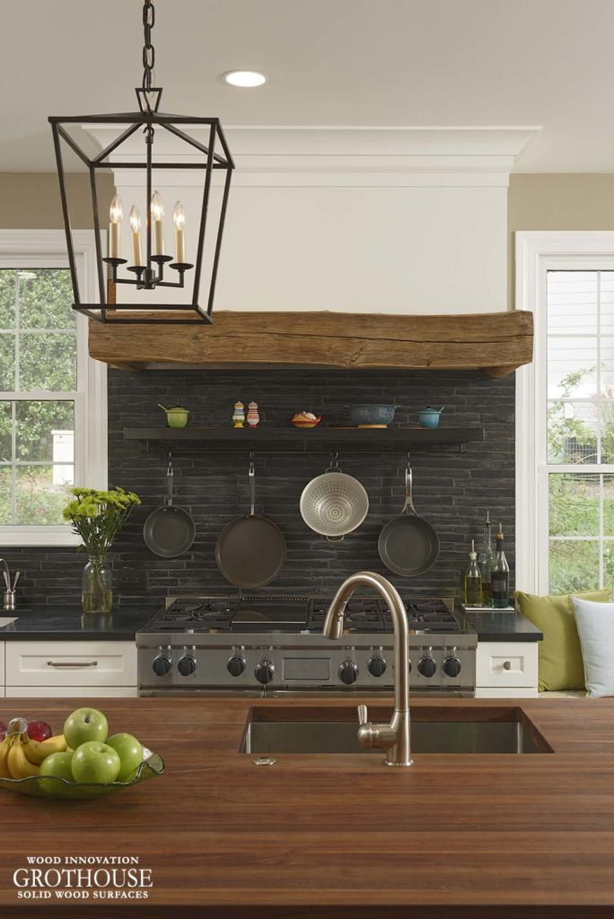 Wood Countertops for Farmhouse Style Kitchens
