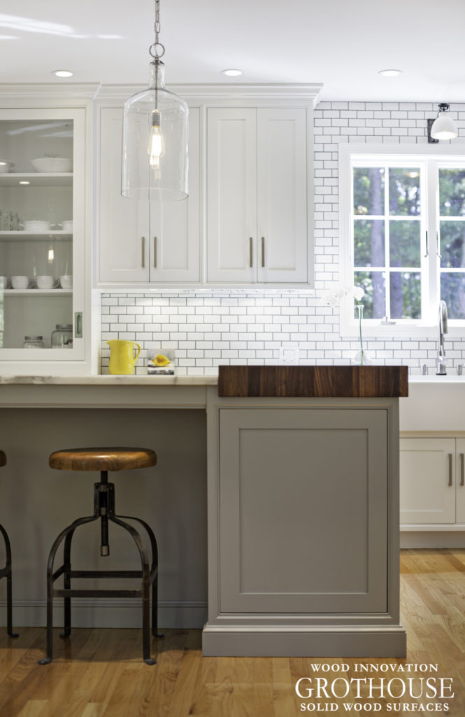 Modern Farmhouse Kitchen designed by New England Design Works