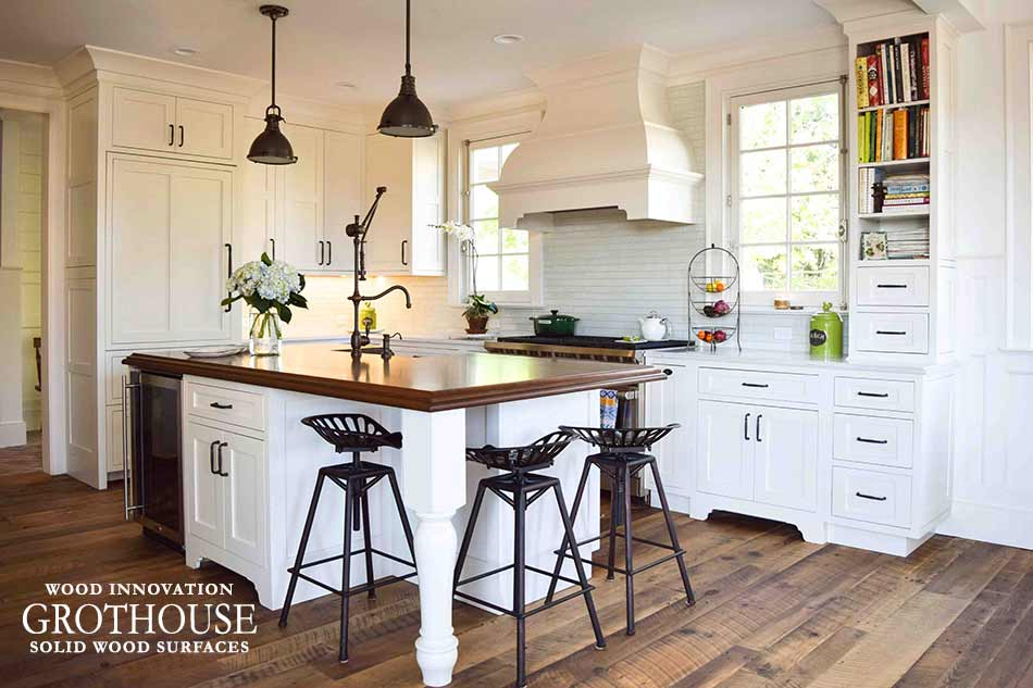 Designing the Perfect Kitchen Island with Wood Countertops and Butcher Blocks