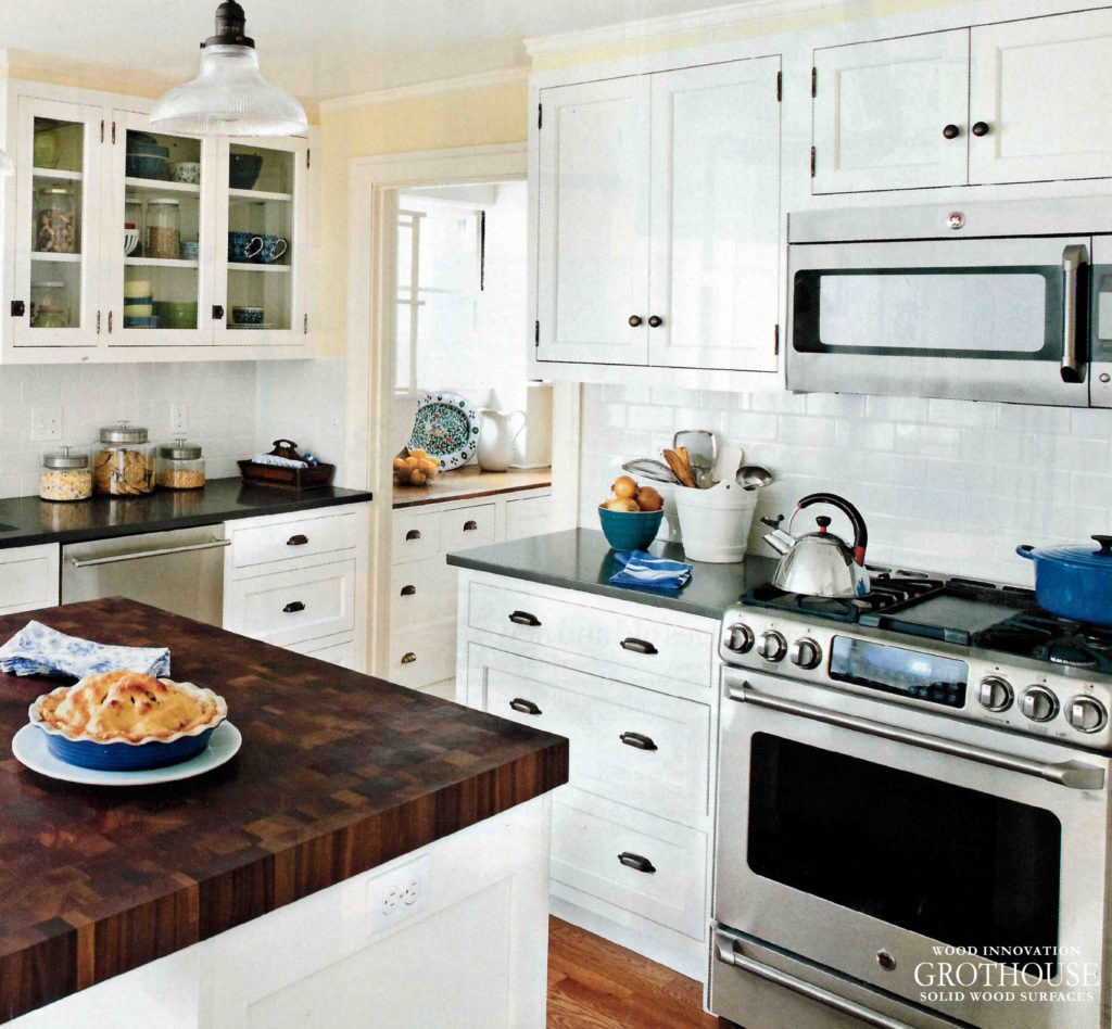 Black and White Kitchen Design by This Old House® Television Show